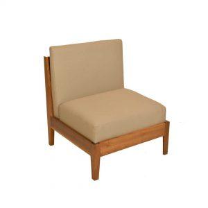 sillón tapizado para exterior