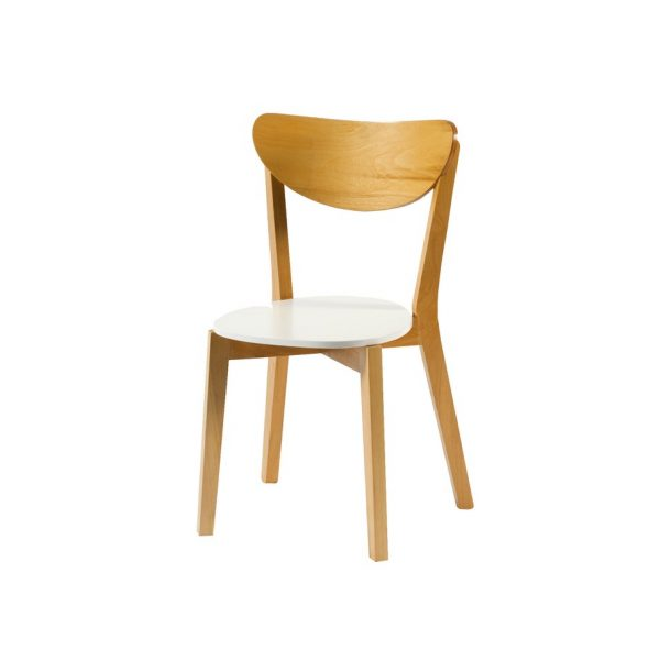 silla madera escandinava